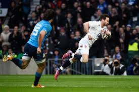 Danny Cipriani dives over for another English try