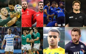 RWC2015 Quarter-finalists